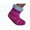 Detské farebné teplé papuče s ABS