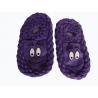 Detské teplé pletené papuče s ABS