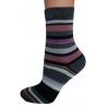 Dámske ponožky pasikave