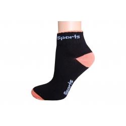 IBA 39-42! Čierne športové ponožky