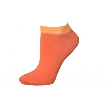 Jednofarebné nízke letné ponožky