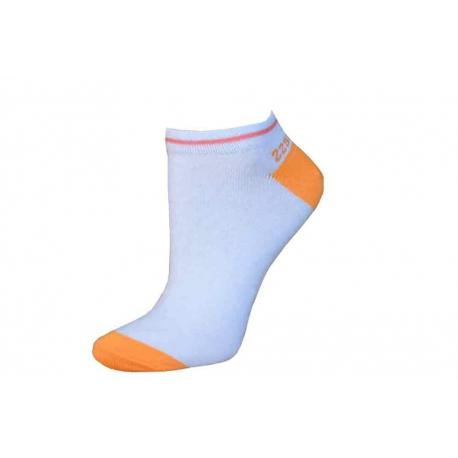 Wellness kotníkové dámske ponožky-oranžové