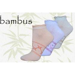 Bambusové ponožky na leto 3 páry