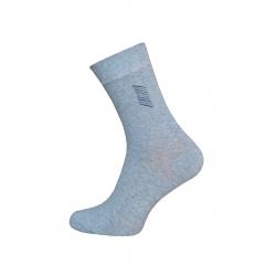 Bavlnené bl.sivé pohodlné pánske ponožky