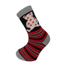 POSLEDNÝ KUS 28-31! Detské teplé ponožky s mackom