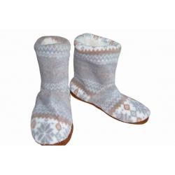 IBA 35-38! Dámske veľmi vysoké hrubé hrejivé papuče