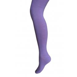IBA 140-146! 90%bavlny! Fialové bavlnené jednofarebné pančuchy.