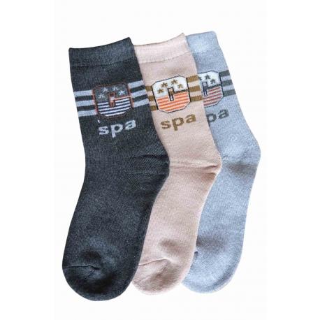 Chlapčenské termo ponožky výhodné balenie 3 páry