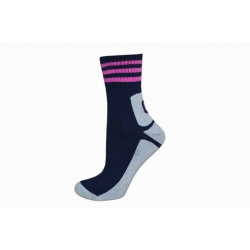 POSLEDNÝ KUS 35-38! Polofroté športové dámske ponožky