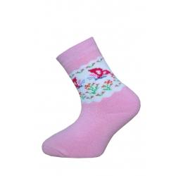IBA 28-31! Termo ponožky pre dievčatá s motýľmi
