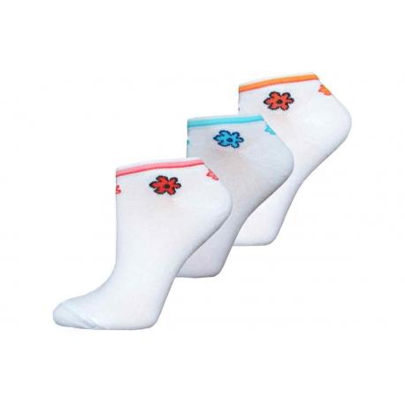 Parádne dámske kotníkové ponožky výhodné balenie 3 páry