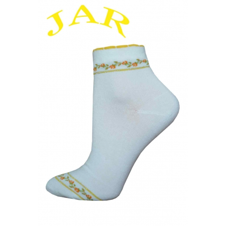 Dámske bavlnené kotníkove ponožky