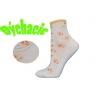 Dámske vyššie kotníkové perforované  ponožky
