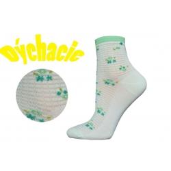 Perforované ponožky s vyšším kotníkom pre ženu za super cenu