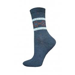 POSLEDNÝ KUS 38-41! Dámske bavlnené tenké ponožky lacné
