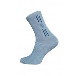 Lacné sivé pánske ponožky