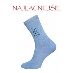 Lacné bavlnené pánske ponožky