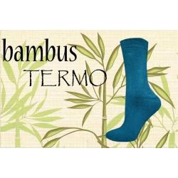 35-38 Jedľové bambusové  hrubé termo ponožky