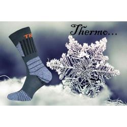 Pánske trekové thermo ponožky na zimu