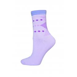 IBA 38-41! Fialové teplé ponožky