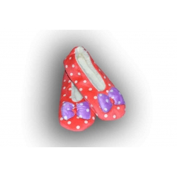 Balerínkové bodkované papuče