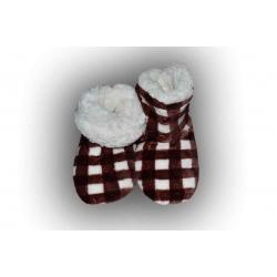 Detské hrejivé papuče na zimu