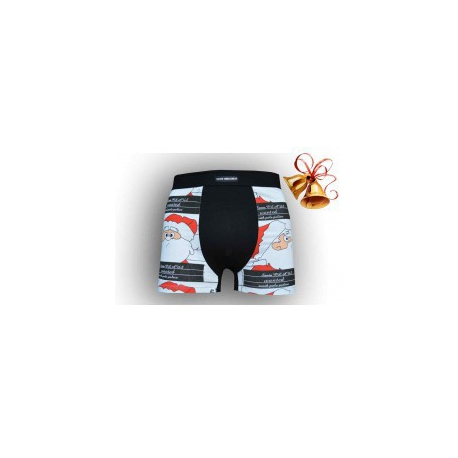 Mikulášške boxerky pre muža