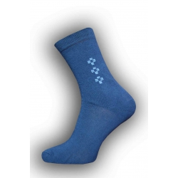 Najlacnejšie oblekové modré pánske ponožky