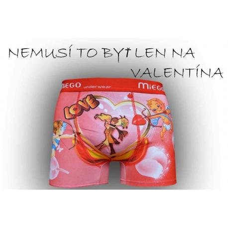 Zamilované boxerky pre mužov