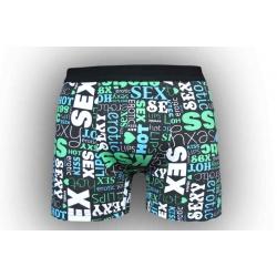 Pohodlné pánske boxerky so vzorom