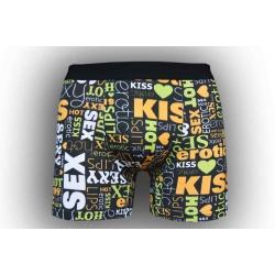 Pánske pohodlné boxerky so vzorom