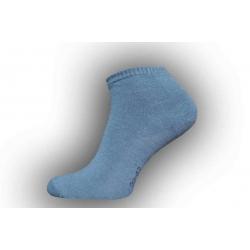 IBA 43-46! Pánske tmavo-sivé členkové ponožky