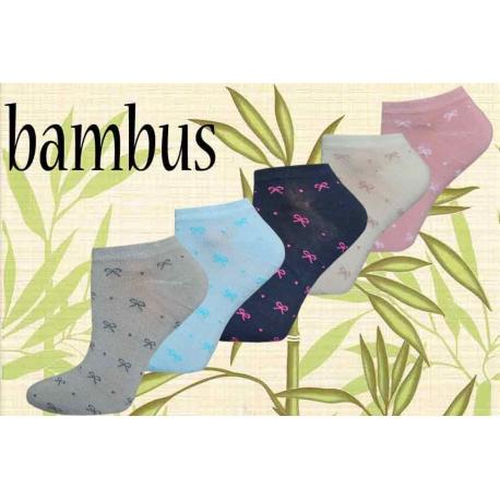 Bambusove kotníkové ponožky výhodné 5 balenie