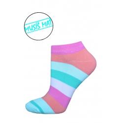 POSLEDNÝ KUS 39-42!  Ponožky z 98% bavlny