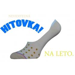 IBA 35-38! Krátke ponožky s bodkami
