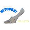 Krásne dámske nízke neviditeľné ponožky do botasiek