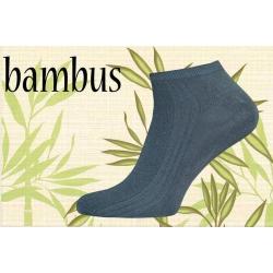 Perforované bambusové ponožky 39-42