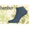 Bambusové pánske  kotníkové perforované ponožky