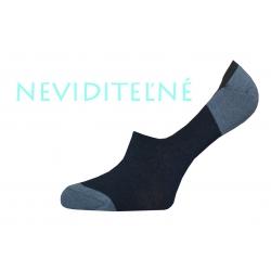 Neviditeľné tmavé pánske ponožky