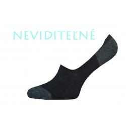IBA 39-42! Neviditeľné pánske ponožky so silikónom
