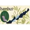 Pánske bambusové,neviditeľné ponožky so silikónom. Výhodné 5balenie