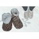 Teplučké dámske pohodlné protišmykové papuče