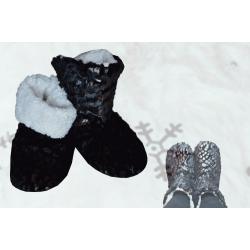 Dámske pohodlné krásne vyteplené papučky