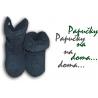 Pohodlné pánske prtotišmykové vysoké papuče na doma