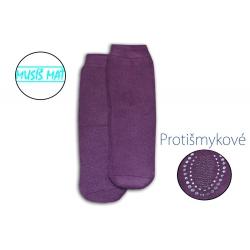 IBA 35-38! Teplé protišmykové cvikľové ponožky