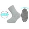 Teplé protišmykové termo ponožky jednofarebné