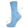 Dámske bavlnené ponožky vzor mačička