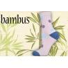 Bambusové vysoké dámske ponožky