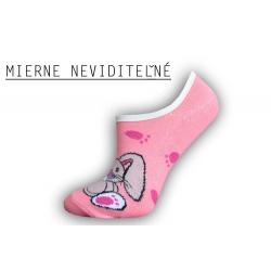 Pevne držiace botaskové dámske ponožky