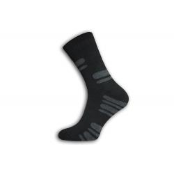 POSLEDNÝ KUS 40-44! Hrubé vysoké lacné termo ponožky 40-44